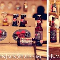 Valentine's Gift - 6 Pack Personalized Bottle Carrier & Labels!!