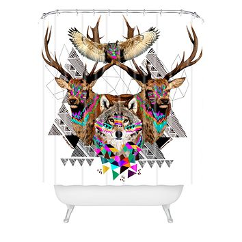 Kris Tate Forest Friends Shower Curtain