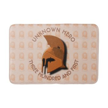 Unknown Spartan 301th Hero Greek Helmet Bathroom Mat