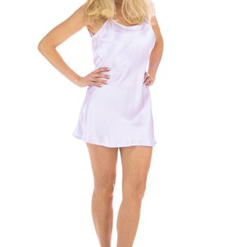 Women's 100% Mulberry Silk Chemise / Nightgown