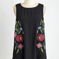 ModCloth Mid-length Sleeveless Sophisticated Specialist Top