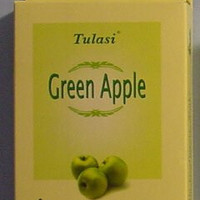 Tulasi Incense Cones - 15 Cones (Green Apple)