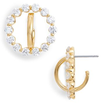 Nadri Orbit Cubic Zirconia Earrings | Nordstrom