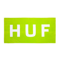HUF - ORIGINAL LOGO BEACH TOWEL // HUF GREEN