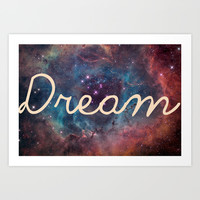 Dream Art Print by Pooja Patel