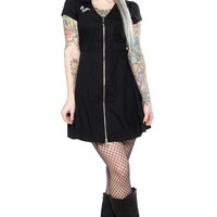 SOURPUSS THE CLASH STRAIGHT TO HELL DINER DRESS