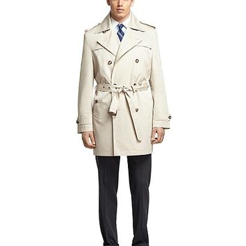 Double-Breasted Trench Coat - Brooks Brothers