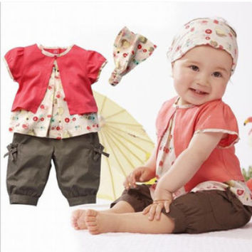 Summer 3pc Pants Set