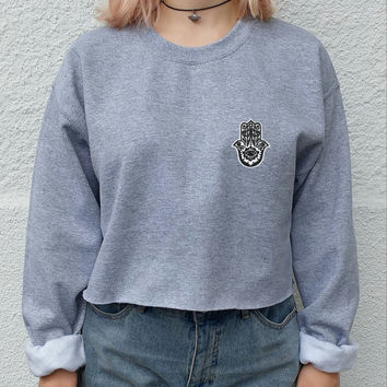 Thicken Winter Crop Top Boyfriend Hoodies [9522168580]