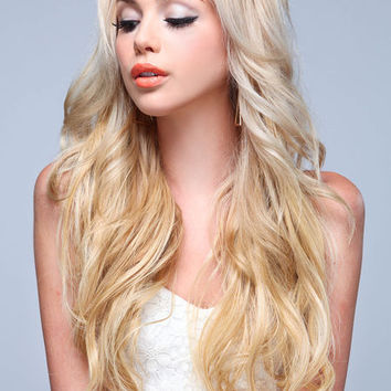 LONG LUXURIOUS CURL 3PC CLIP IN EXTENSIONS