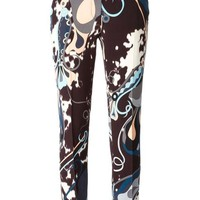 ONETOW Emilio Pucci abstract print trousers