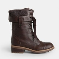 Cara Combat Boots - New Arrivals - Clothing