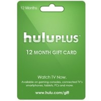 Hulu Plus 12 Month 1 Year Gift Card Membership Subscription Code Emailed