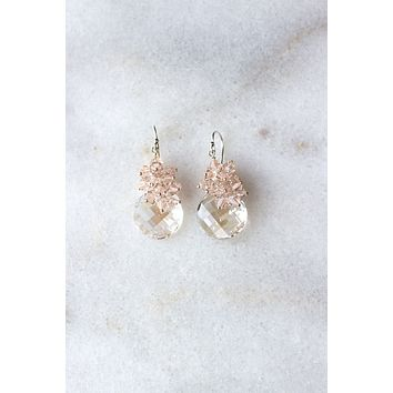 Petite Ritz Crystal Earrings - Christine Elizabeth Jewelry