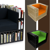 Omnivoracious: A Chair for Book Lovers