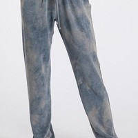 Tie Dye Jogger Pant - Teal Blue