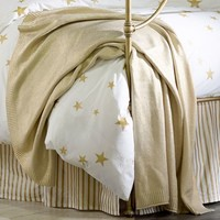The Emily And Meritt Liquid Gold Throw