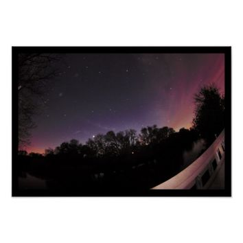 Night Sky Photo Poster