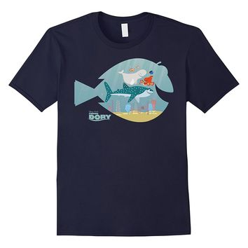 Disney Finding Dory Fish Frame Graphic T-Shirt