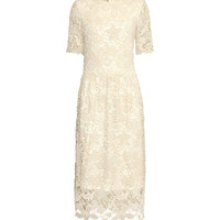Ankle-length lace dress - from H&M