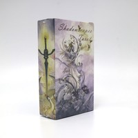 shadowscapes tarot cards game 78 cards deck raindrop water proof free shipping tarot board game