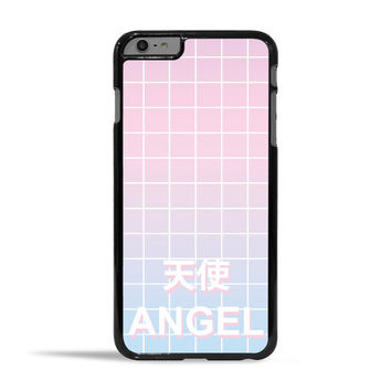 Angel Pastel Aesthetic Grid Case for Apple iPhone 6 Plus