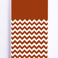 Chevron Brown for Iphone 5 / 5s Hard Cover Plastic