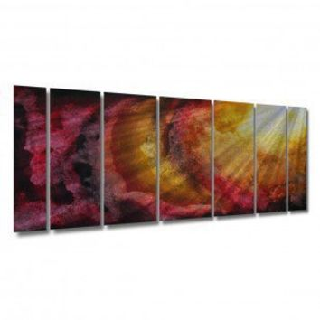 "All My Walls Ethereal Rays by Megan Duncanson, Abstract Wall Art - 23.5"" x 60"" - MAD00040 - Wall Art & Coverings - Decor"