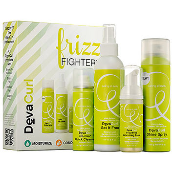 DevaCurl Frizz Fighters Set