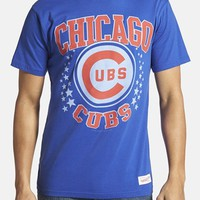 Men's Mitchell & Ness 'Chicago Cubs - Shooting Stars' Tailored Fit Graphic T-Shirt