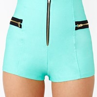 Follow Me Shorts - Mint