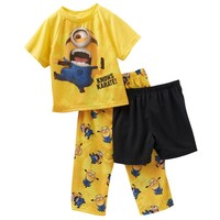 Despicable Me 2 Minion ''Knows Karate!'' Pajama Set - Toddler Boy, Size: