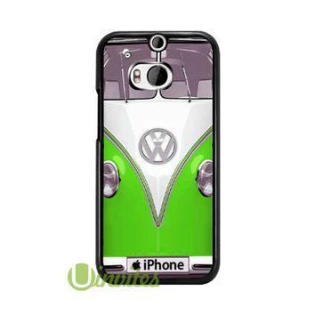 Volkswagen VW Van Gree  Phone Cases for iPhone 4/4s, 5/5s, 5c, 6, 6 plus, Samsung Galaxy S3, S4, S5, S6, iPod 4, 5, HTC One M7, HTC One M8, HTC One X