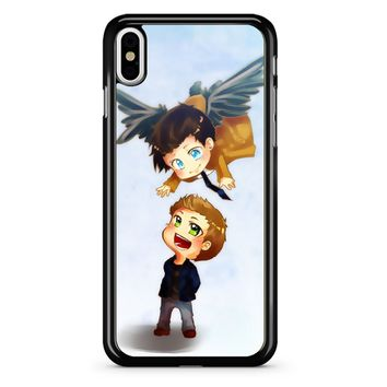 Supernatural Destiel Fanart iPhone X Case