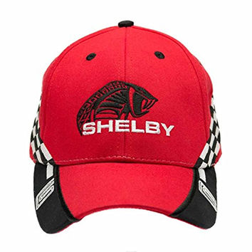 Shelby Men's Big Head Red Race Hat One Size Red