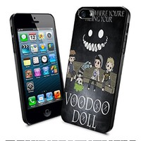5 Second of Summer Lyric Tell Me Where You're Hidding Your Voodoo Doll Iphone and Samsung Galaxy Case (Iphone 5/5s Black)