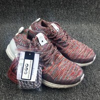 [With Double Box] 2017 ULTRA BOOST MID KITH BY2592 Best Quality Real Boost Uncaged Aspen Running Shoes Sports Primeknit Runners half size