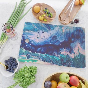 Aquatic Meditation Cutting Board by duckyb