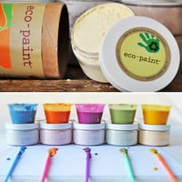 Eco-Paint | Organic Paint for Kids | children's Natural Painting Supplies