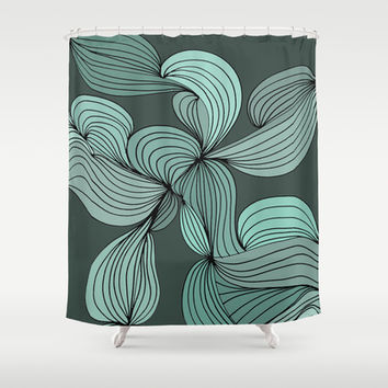 The Greens Shower Curtain by DuckyB (Brandi)