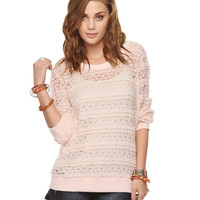 Ruffled Lace Top | FOREVER21 - 2000041594