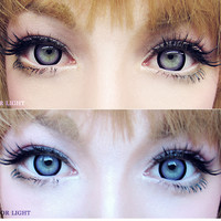 EOS Sugar Candy Violet Cosmetic Coloured Contact Lens | EyeCandys.com