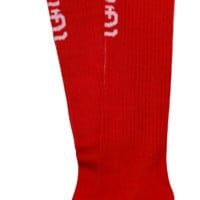 May 19 St. Louis Cardinals vs. Milwaukee Brewers - Socks -