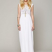 Nightcap  Isobel Crochet Maxi Dress at Free People Clothing Boutique