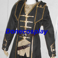 Custom made video game corvo cosplay costumes halloween costume any size (weight:1.5kg)