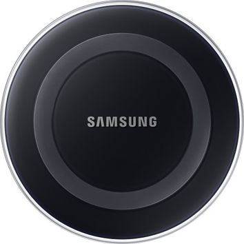 Samsung - SMS Wireless Charger for Select Samsung Devices - Black