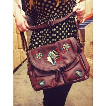 SOURPUSS INDIAN NOMAD PURSE