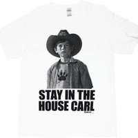 Stay In The House Carl - Walking Dead T-shirt - MyTeeSpot - Your T-shirt Store