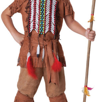 Boy's Costume: Indian Brave | Large