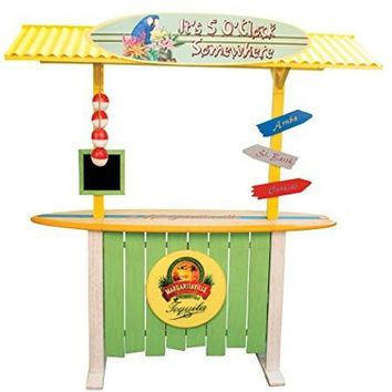 """Margaritaville Outdoor """"It's 5 o'clock Somewhere"""" Corrugated Roof Bar"""